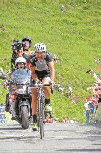 Di Luca kletterte am Horn an die Spitze