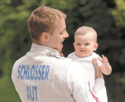 Tochter Elena wird Roland Schlosser aufmuntern. Foto: apa
