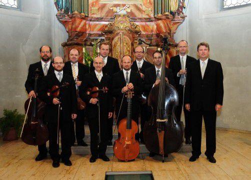 Traditionell gehört das Barockkonzert des Barockensembles der Wiener Symphoniker zu den kleinen, aber feinen Highlights des Festspielsommers. foto: veranstalter