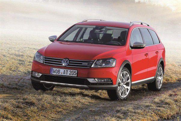 """VW Passat: einer der klassischen Dienstwagen. Nun gibt es ihn als Alltrack auch in einer """"Offroad-Optik""""."""