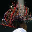 Williams setzt auf bunte Haarpracht