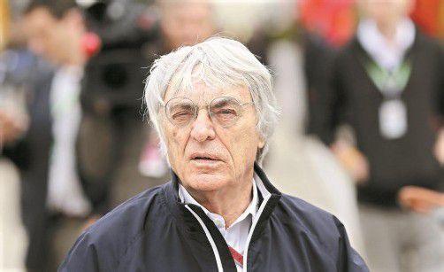 Verzichtete auf Hockenheim: Bernie Ecclestone. foto: apa