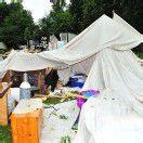 Schweres Unwetter: Ein Toter bei Mittelalterfest