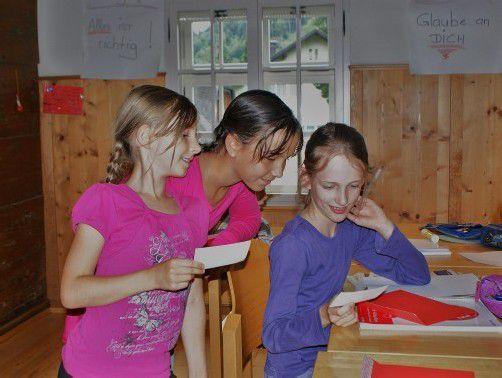WG: Sommerschreibwerkstatt für 10- bis 12-Jährige in Rankweil/ 23. - 27.7.