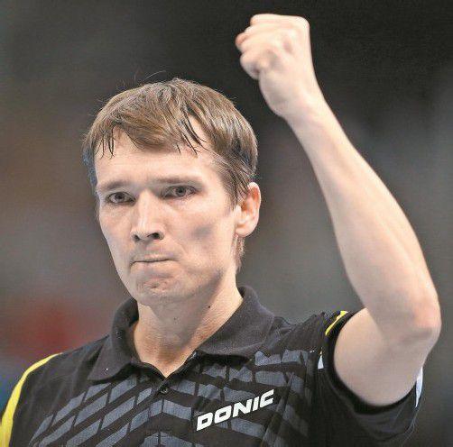Werner Schlager freut sich über den Auftaktsieg. Foto: apa