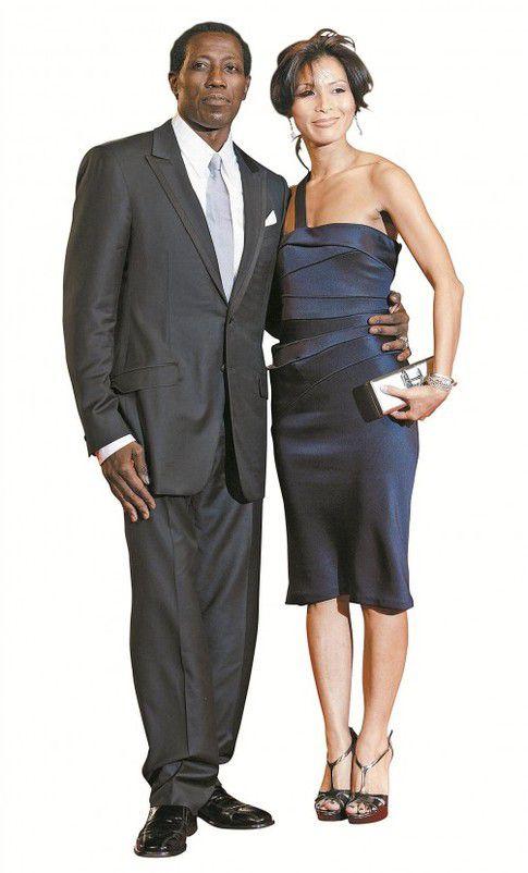 Wesley Snipes mit seiner Frau Nikki Park – das Paar hat vier Kinder.
