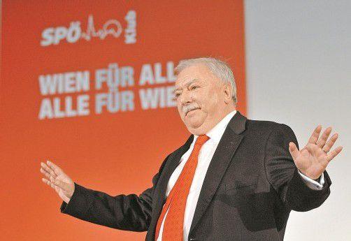 Wiens Bürgermeister Michael Häupl (SPÖ): Mitarbeiter gehen mit 53 Jahren in Frühpension. Foto: DAPD