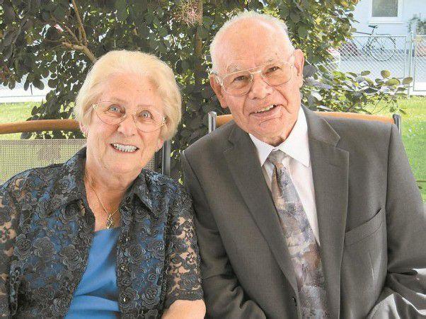 Wilma und Erwin Strolz feiern goldene Hochzeit.