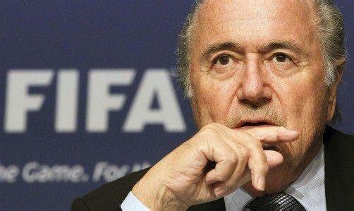 Wird den Reformprozess weiter als FIFA-Präsident begleiten: der Schweizer Joseph Blatter. Foto: reuters