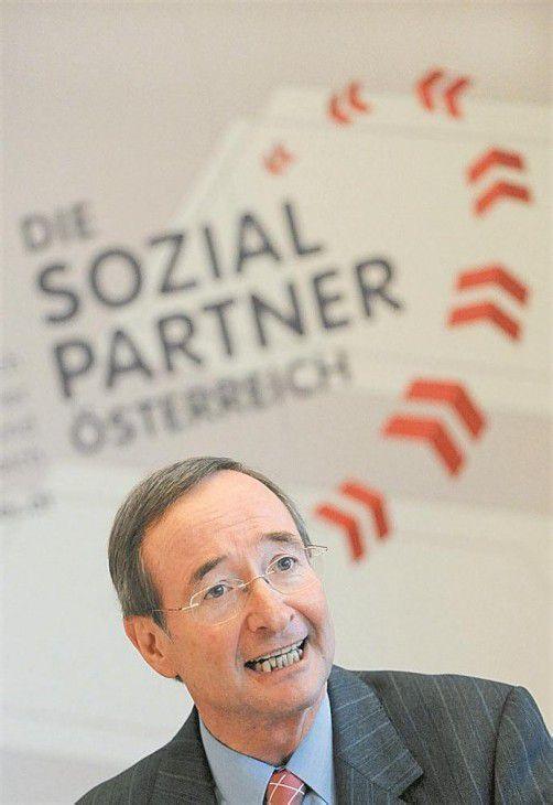 Wirtschaftskammer-Präsident Christoph Leitl. Foto: APA
