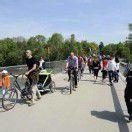Gute Bilanz für Radwegbrücke