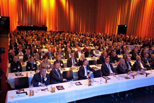 Zum Vorarlberger Wirtschaftsforum kommen jährlich über 600 Unternehmer und Top-Manager. Foto: VN