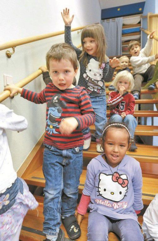 Zwei Jahre Kindergarten für alle? Sebastian Kurz ist dafür. Foto: APA
