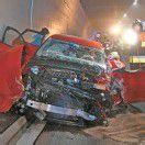 Erneut Unfall im Pfändertunnel Schon 13 Verletzte bei vier Unfällen /B1