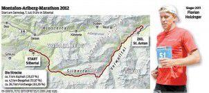 Ein Marathon über 1300 Höhenmeter