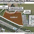 Rupp-Käse: Erweiterungsbau bis 2015