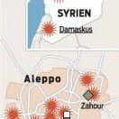Massaker in syrischer Stadt Aleppo befürchtet