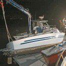 Ehepaar von sinkendem Motorboot gerettet