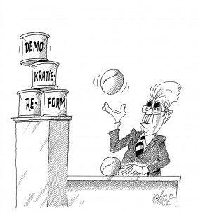 Ball beim Bundespräsidenten!