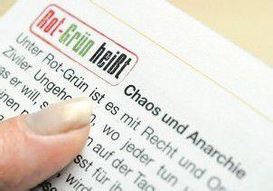 ÖVP warnt vor Rot-Grün
