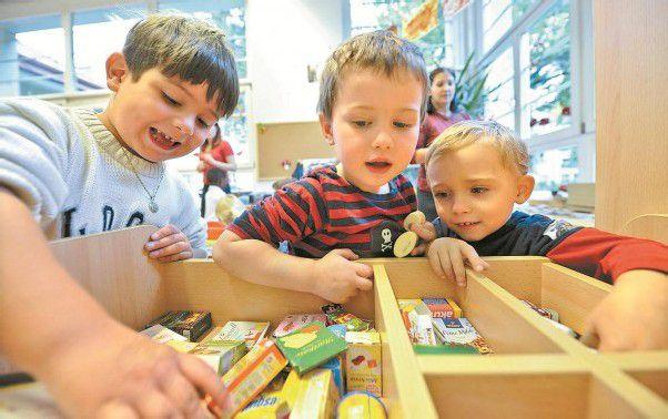 ÖVP-Expertengruppe fordert Kindergartenpflicht ab vier und volle Zuständigkeit des Bundes. Foto: APA