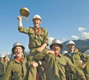 Floriani-Jünger feierten ihre Siege Spannender Wettkampf in Satteins /A8