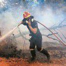 Waldbrände in Südeuropa