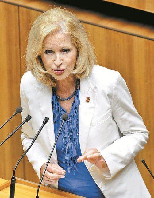 Übt Kritik an Sachwalterschaft: Gertrude Aubauer. Foto: APA