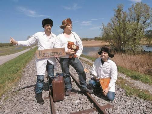 """""""Drei Friseure"""", das sind Daniel Amann, Bernhard Widerin und Stefan Beer."""