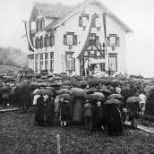 Das Bucher Schulhaus wird heuer 100 Jahre alt