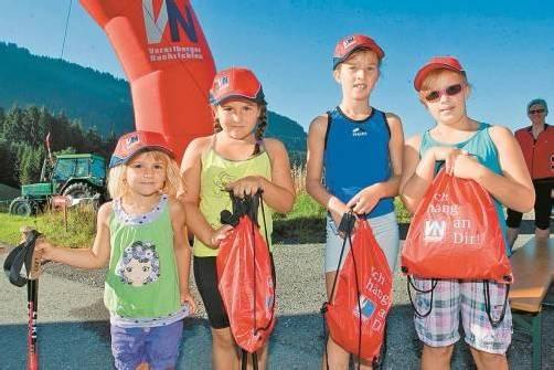 Ab 9.30 Uhr werden die Wandersäckle vor Ort ausgegeben. Foto: VN
