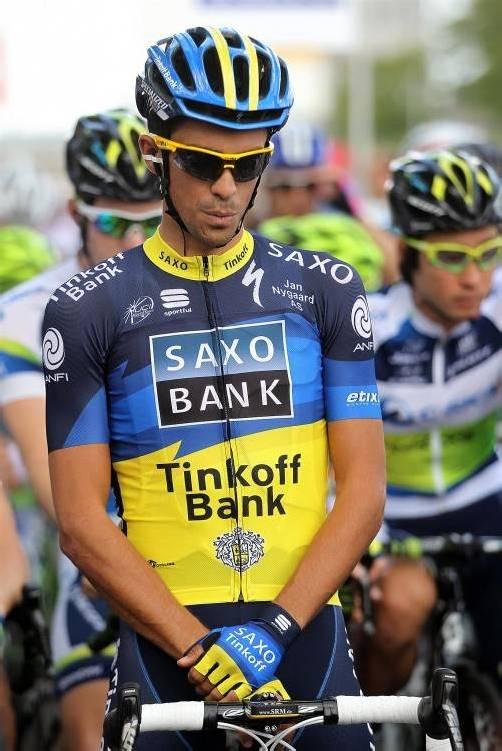 Alberto Contador ist nach Dopingsperre wieder zurück.  Foto: apd
