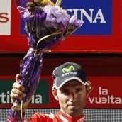 Valverde schnappte sich das Rote Trikot