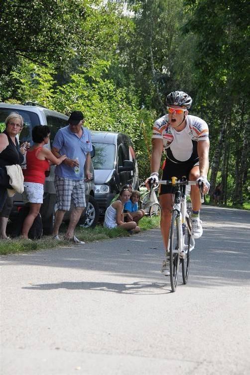 Amateur Gerd Hagspiel war beim Bergrennen nach Buch nicht zu schlagen. Foto: kaufmann-pauger