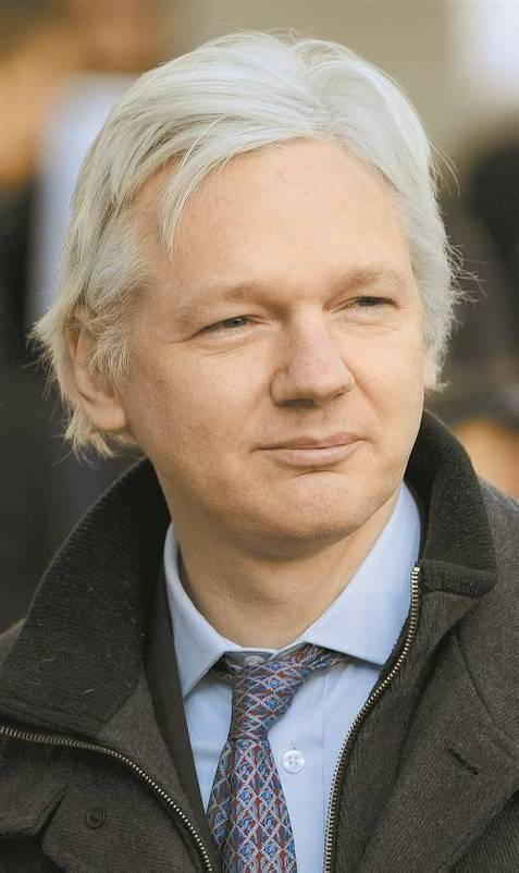 """Assange: Entscheidung Ecuadors sei """"wichtiger Sieg"""". Fotos: EPA"""