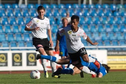 Auf Mittelfeldspieler Sidinei de Oliveira ruhen die Hoffnungen in Bregenz. Foto: Steurer