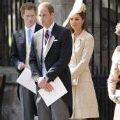 William, Kate und Harry unzertrennlich