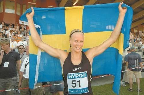 Carolina Klüft gewann zwischen 2003 und 2007 fünf Mal das Hypo-Meeting in Götzis. Foto: VN/Stiplovsek
