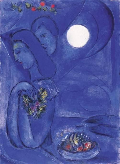 Chagall-Ausstellung in Lindau, Aquarelle und Ölgemälde von Marc Chagall (1887-1985), Stadtmuseum
