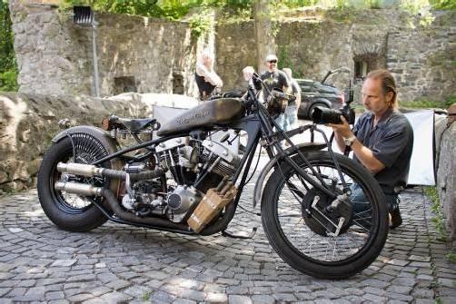 Das Custom-Bike aus Feldkirch ist, wo es ist, Objekt der Begierde.
