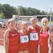 Marianne Maier holte sich vier Goldmedaillen