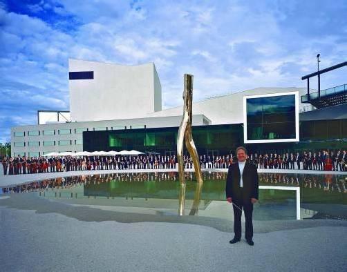 """Das Vorarlberger Symphonieorchester spielt Glanerts """"Theatrum bestiarum"""" sowie die Symphonie Nr. 4 Es-Dur von Anton Bruckner am Freitag in Schwarzenberg und am Sonntag in Bregenz. Dirigent: Gérard Korsten. FOTO: SOV"""