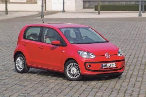 """Der Volkswagen up! sichert sich den ersten Platz in der Kategorie """"Start"""" des Österreichischen Automobil-Preises des ARBÖ. Fotos: Werk"""