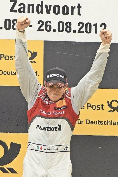Der Italiener Edoardo Mortara nutzte in Zandvoort die Gunst der Stunde und beendete die Schwächephase des Audi-Teams. Foto: epa