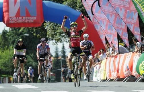 Vorjahressieger Roberto Cunico verfehlte den Streckenrekord des Deutschen Remo Schuller um 48 Sekunden. Foto: vn/Stiplovsek