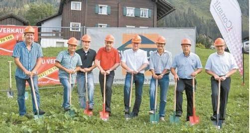 Der Spatenstich für das neue Silvretta Alpine Resort in Gargellen ist erfolgt. Foto: h. Reimann