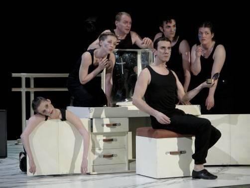 """Die 2008 entstandene Kammeroper """"Nijinskys Tagebuch"""" – in Zusammenarbeit mit dem Landestheater Linz – feiert am Samstag in Bregenz Premiere. foto: armin bardel/bregenzer festspiele"""