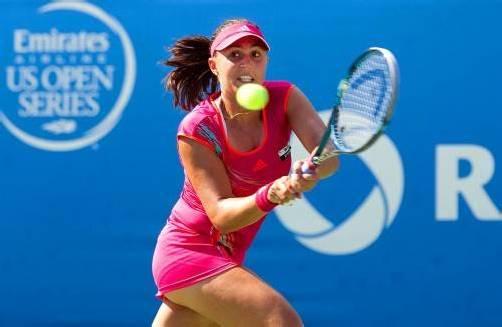 Die Dornbirnerin Tamira Paszek tritt zum fünften Mal bei den US Open an. Dabei ist Österreichs Aushängeschild erstmals gesetzt und geht damit großen Kalibern in den ersten Runden aus dem Weg.  Foto: Gepa