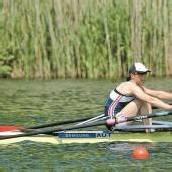 Michaela Taupe-Traer holt WM-Silber im Einer