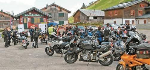 Die Kampagne findet bewusst auf viel befahrenen Motorradrouten statt. Foto: KfV